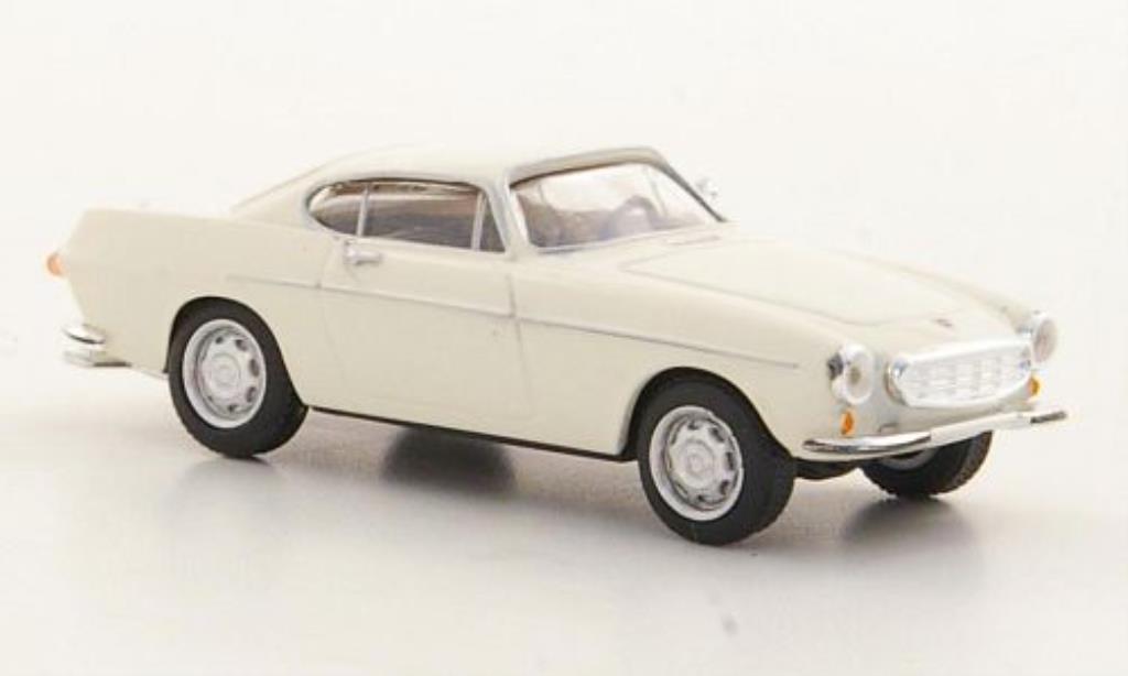 Volvo P1800 1/87 Herpa blanche 1961 miniature
