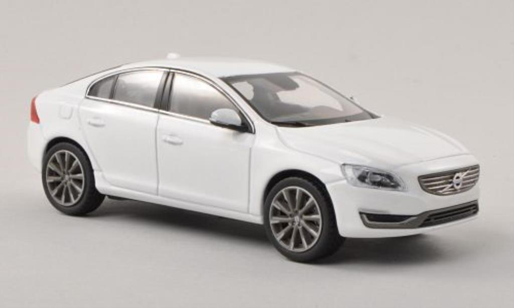 Volvo S60 1/43 Norev white 2013 diecast model cars