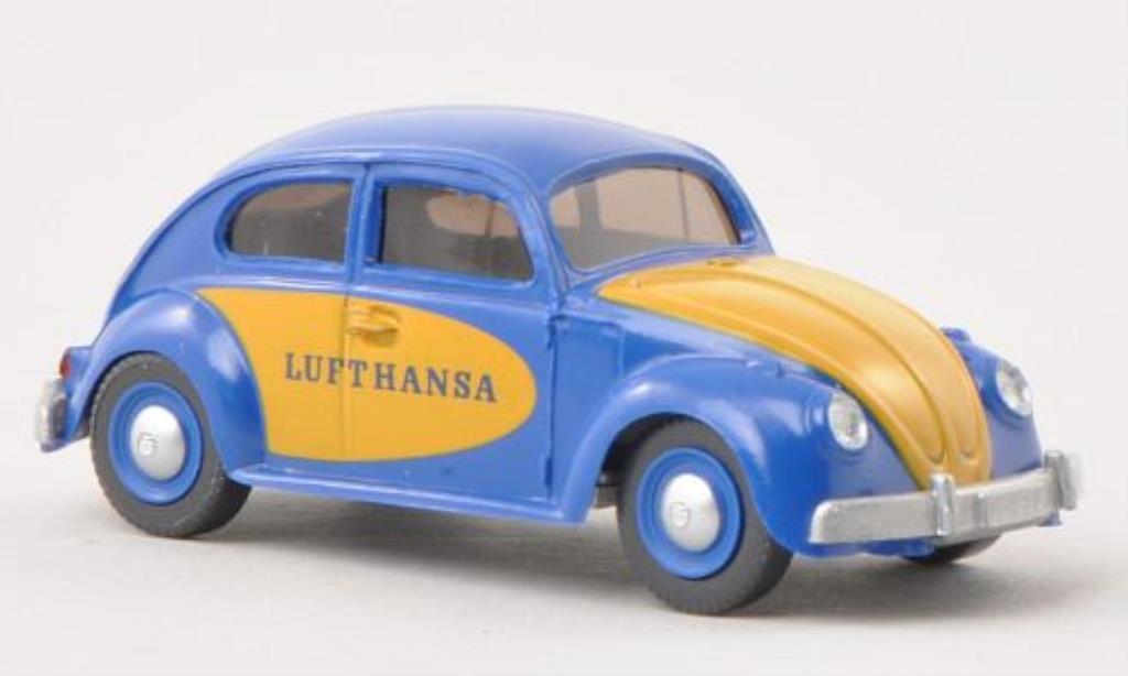Volkswagen 1200 1/87 Wiking Kafer Lufthansa miniature