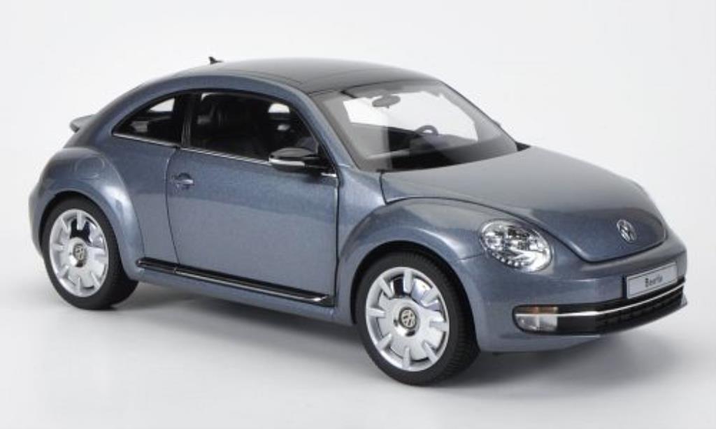 volkswagen beetle grau kyosho modellauto 1 18 kaufen verkauf modellauto online. Black Bedroom Furniture Sets. Home Design Ideas