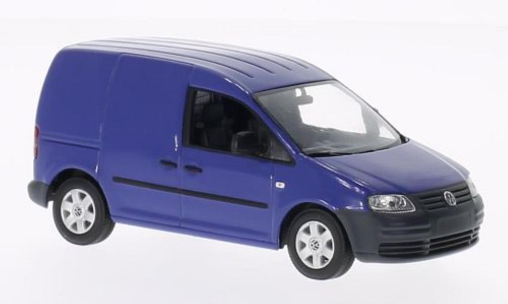 Volkswagen Caddy 1/43 Minichamps bleu 2004 miniature