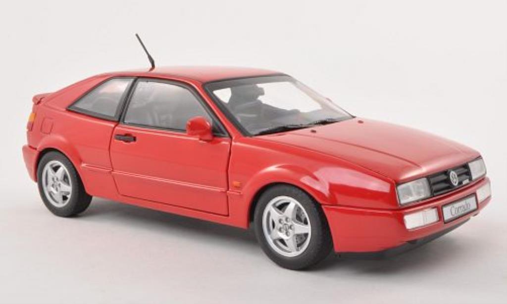 Volkswagen Corrado VR6 red 1993 Revell diecast model car 1 ...