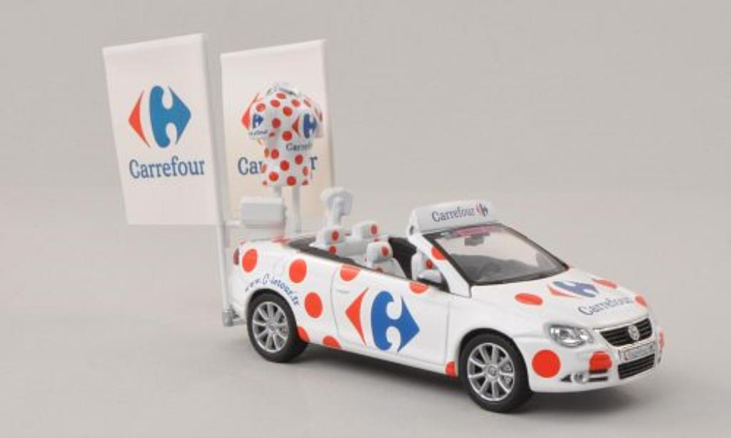 volkswagen eos miniature carrefour tour de france 2011 norev 1 43 voiture. Black Bedroom Furniture Sets. Home Design Ideas