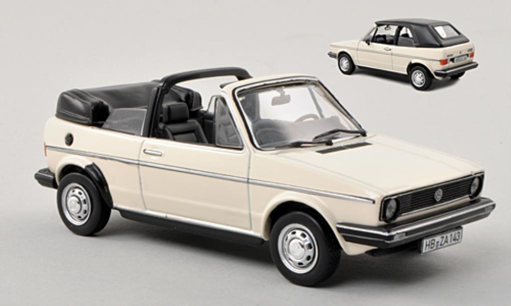 volkswagen golf i cabriolet white 1981 norev diecast model. Black Bedroom Furniture Sets. Home Design Ideas