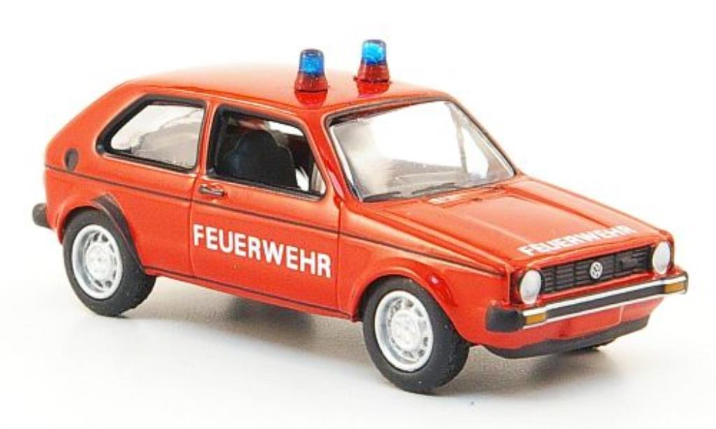 Volkswagen Golf I 1/87 Bub Feuerwehr modellautos