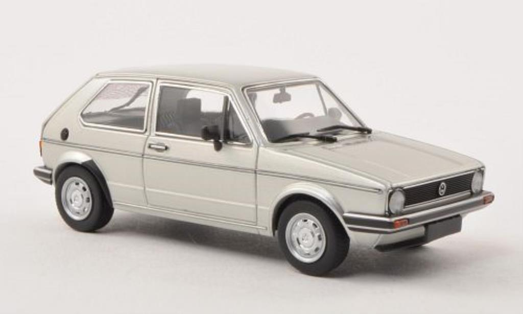 Volkswagen Golf I GLS gray 1980 Minichamps. Volkswagen Golf I GLS gray 1980 miniature 1/43