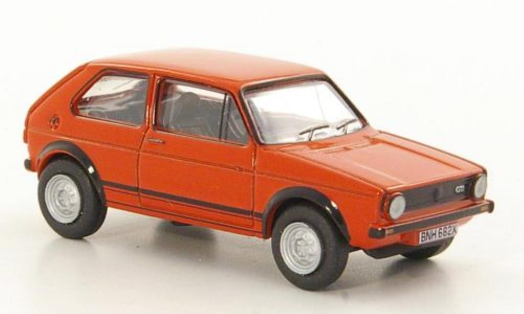 Volkswagen Golf I 1/76 Oxford GT rouge miniature