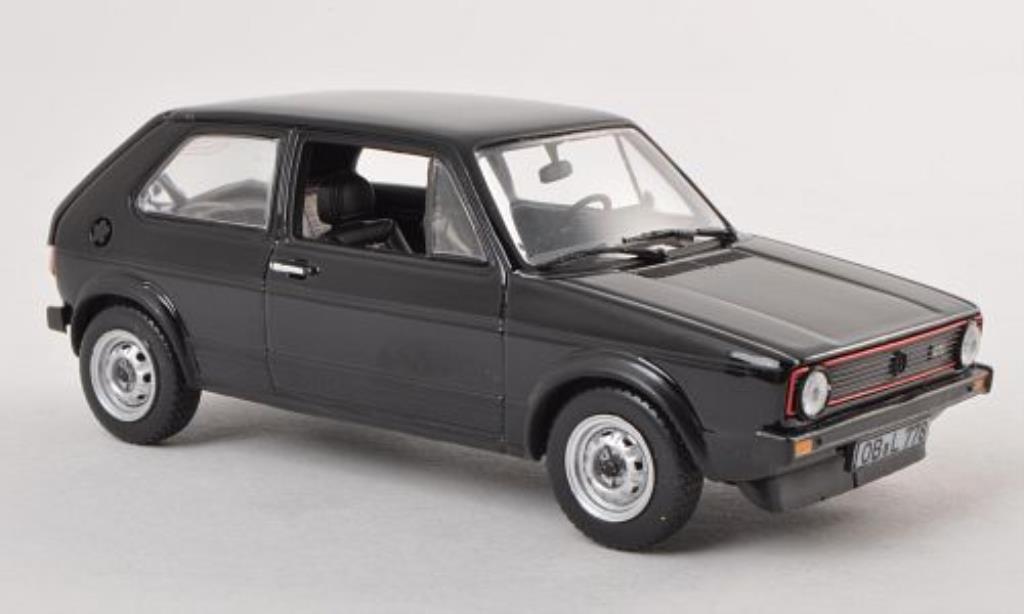 Volkswagen Golf I 1/43 Norev I GTI noire 1976 miniature