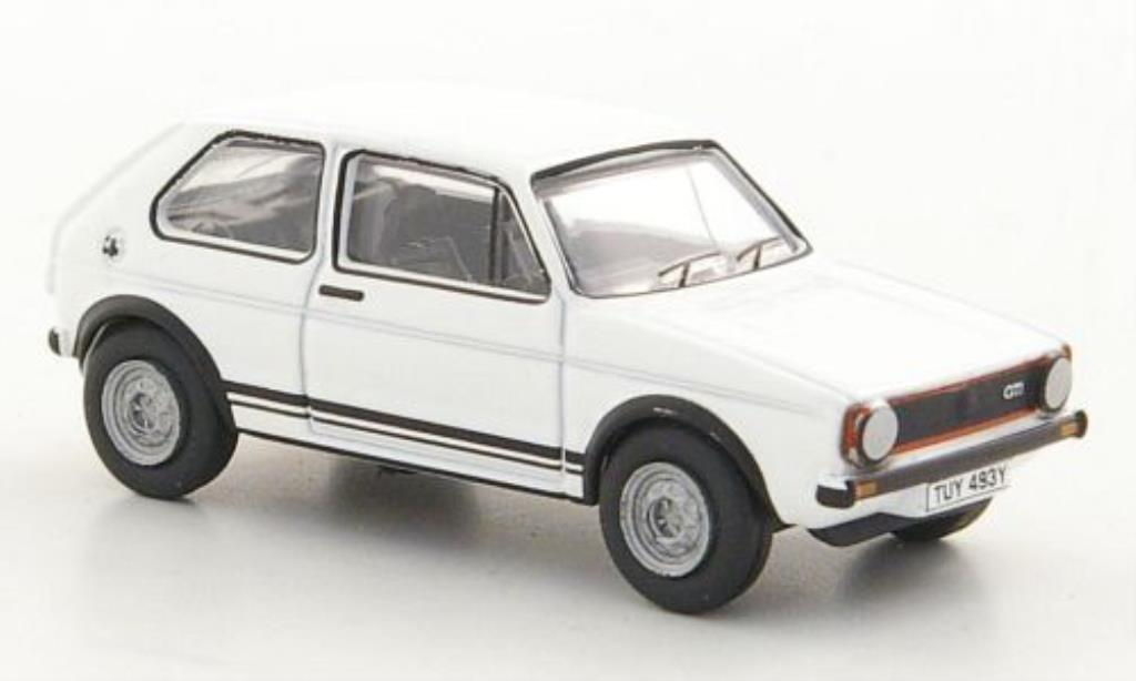 Volkswagen Golf I 1/76 Oxford GT blanche miniature