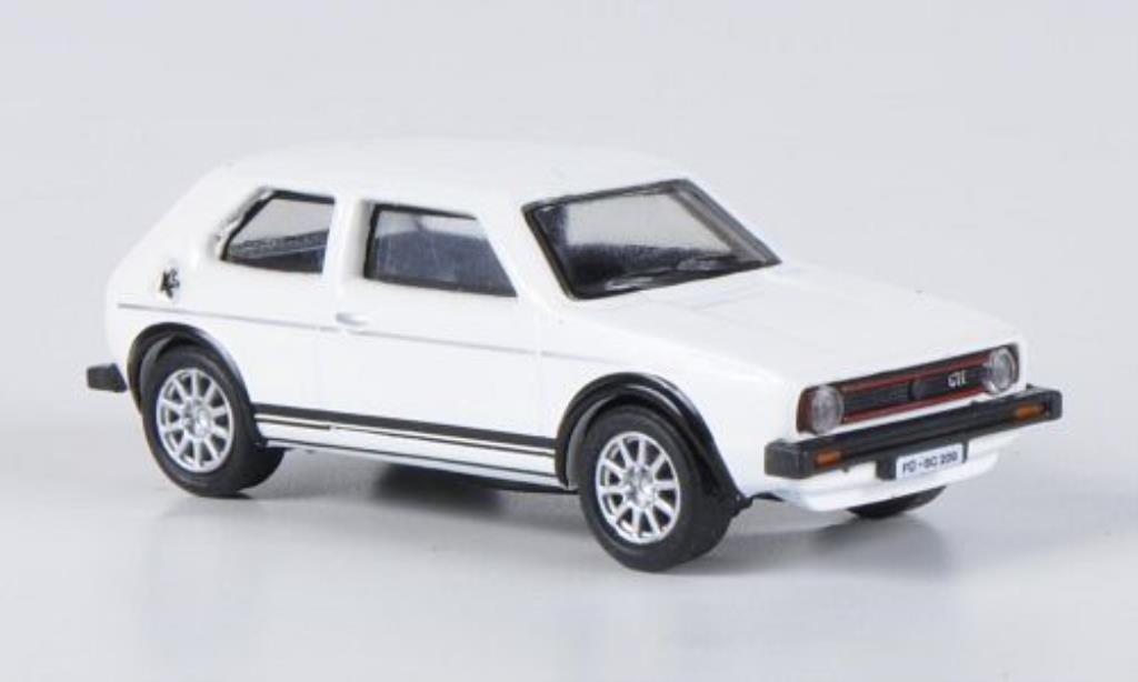 Volkswagen Golf I 1/87 Schuco GT weiss modellautos