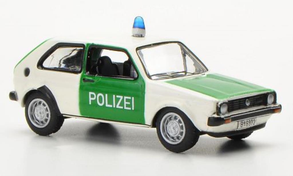 Volkswagen Golf I 1/87 Bub Polizei 2-turig modellautos