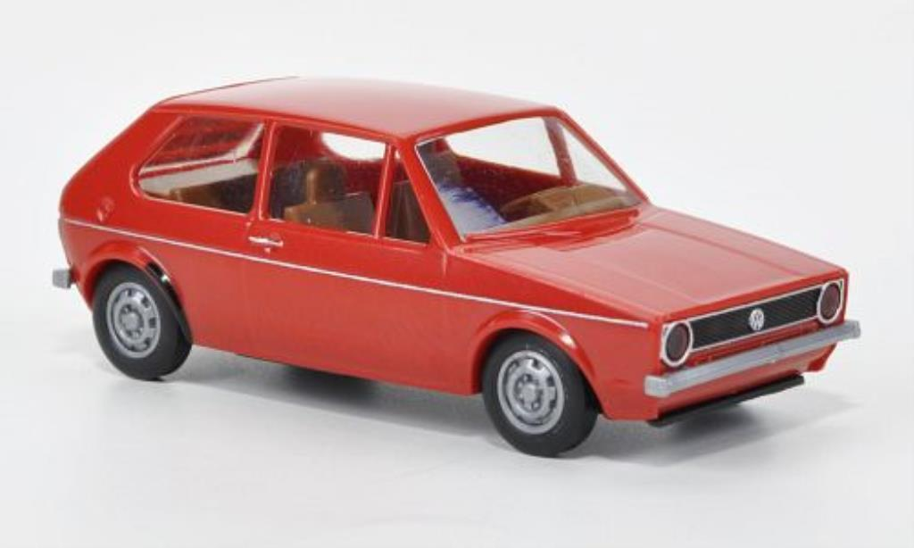 Volkswagen Golf I red Brekina. Volkswagen Golf I red miniature 1/87
