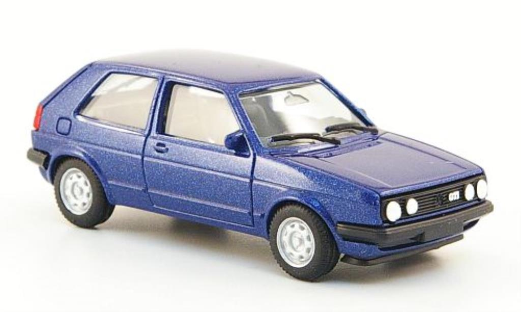 volkswagen golf ii gti blau herpa modellauto 1 87 kaufen verkauf modellauto online. Black Bedroom Furniture Sets. Home Design Ideas