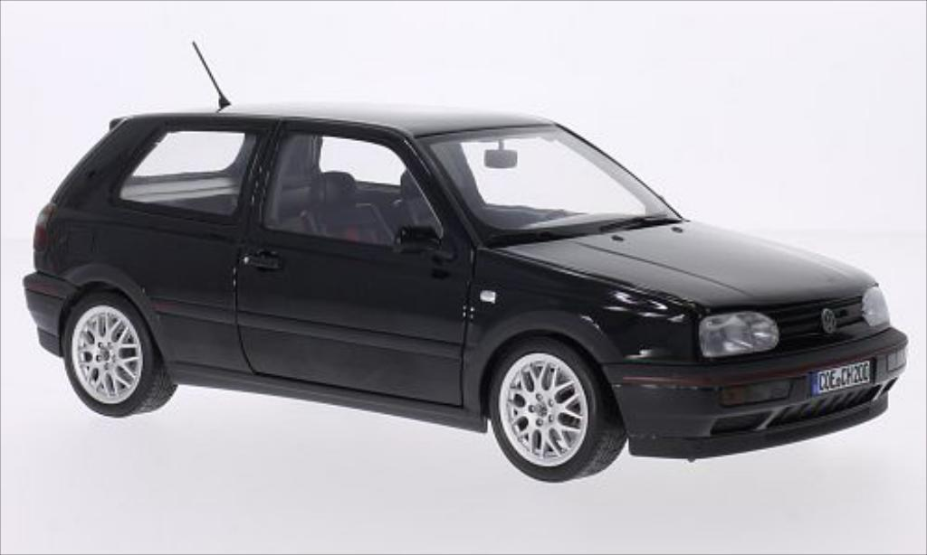 Volkswagen Golf III 1/18 Norev GTI black 1996 diecast model cars