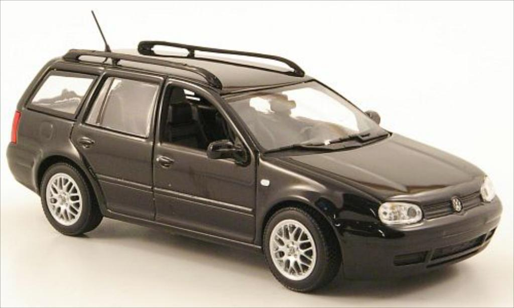 volkswagen golf iv variant schwarz mcw modellauto 1 43. Black Bedroom Furniture Sets. Home Design Ideas