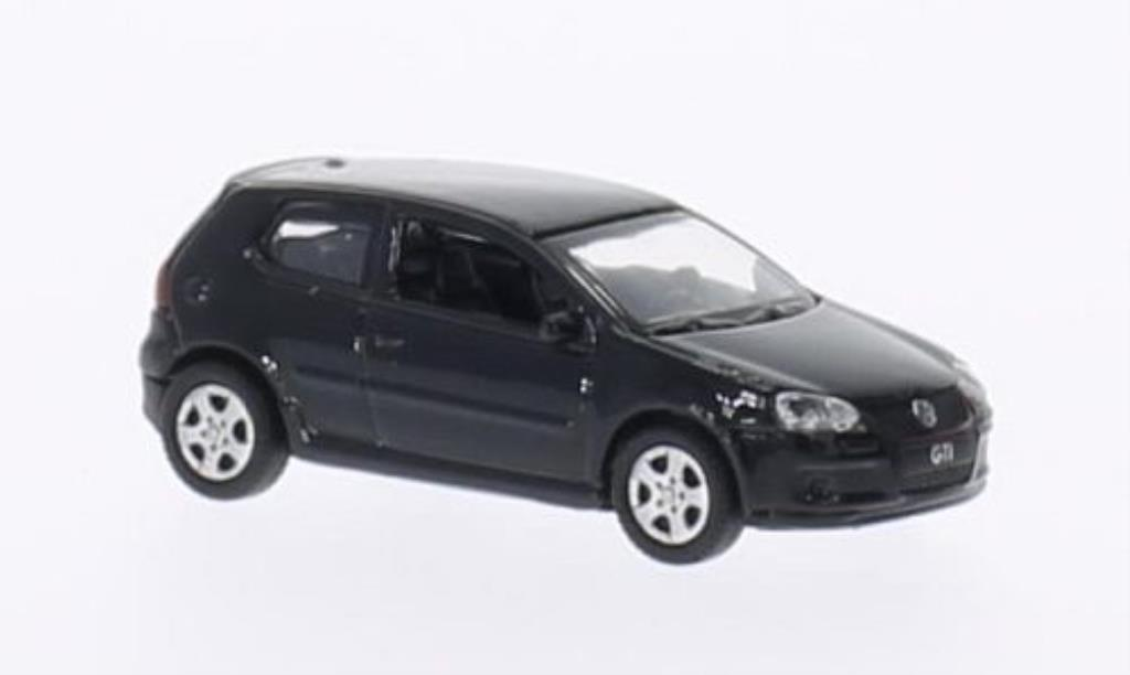 Volkswagen Golf V 1/87 Welly GTI negro miniatura