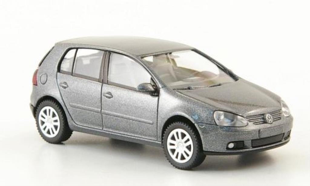 Volkswagen Golf V 1/87 Wiking grey 5-Turer 2003 diecast model cars