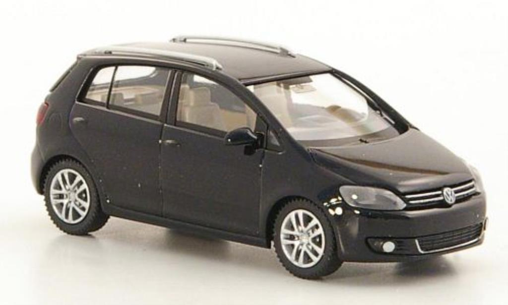 Volkswagen Golf V 1/87 Wiking Plus black 2005 diecast model cars