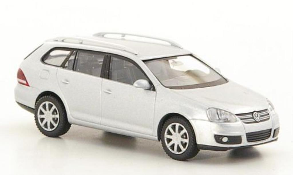 Volkswagen Golf V 1/87 Wiking ariant grey 2007 diecast model cars