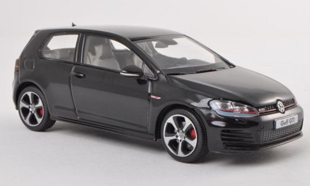 volkswagen golf vii gti black 3 turer herpa diecast model. Black Bedroom Furniture Sets. Home Design Ideas