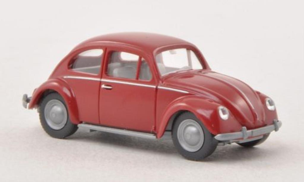 Volkswagen Kafer 1/87 Wiking 1200 rouge miniature