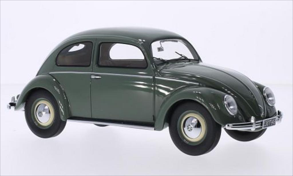 Volkswagen Kafer 1/18 Minichamps 1200 verte 1949 miniature