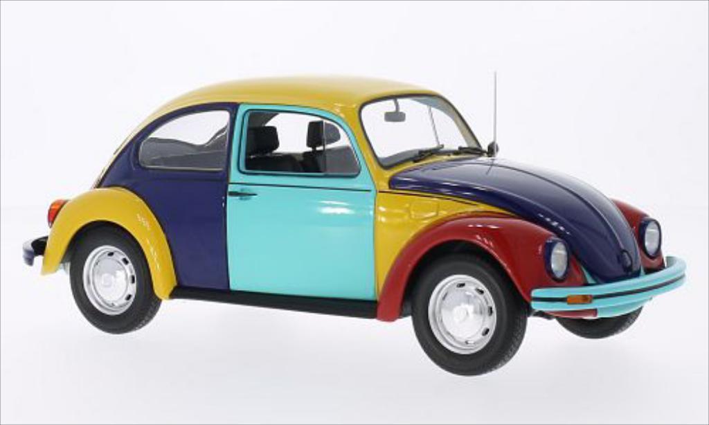 Volkswagen Kafer 1200 Harlekin 1970 Minichamps. Volkswagen Kafer 1200 Harlekin 1970 miniature 1/18