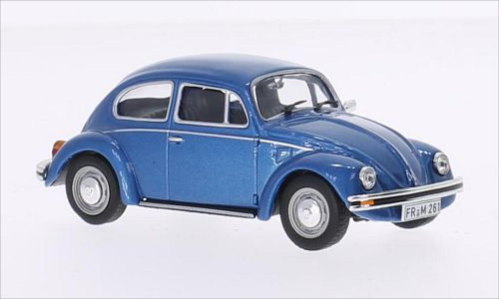 Volkswagen Kafer 1/43 Solido 1302 LS metallic-bleu 1972 miniature