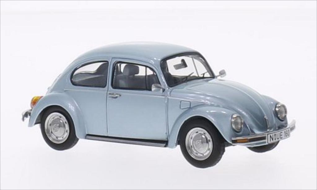 Volkswagen Kafer 1/43 Schuco 1600 Última Edición metallic-bleu