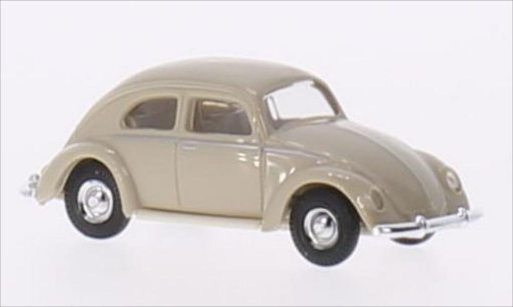 Miniature Volkswagen Kafer beige 1946 Busch. Volkswagen Kafer beige 1946 miniature 1/87