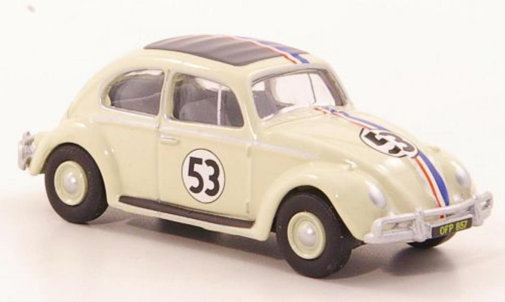 Volkswagen Kafer 1/76 Oxford Export Herbie No.53 1963 miniature