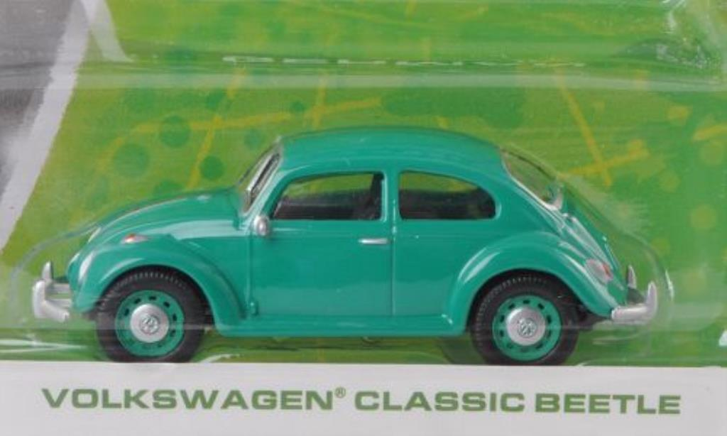 Volkswagen Kafer 1/64 Greenlight verte miniature