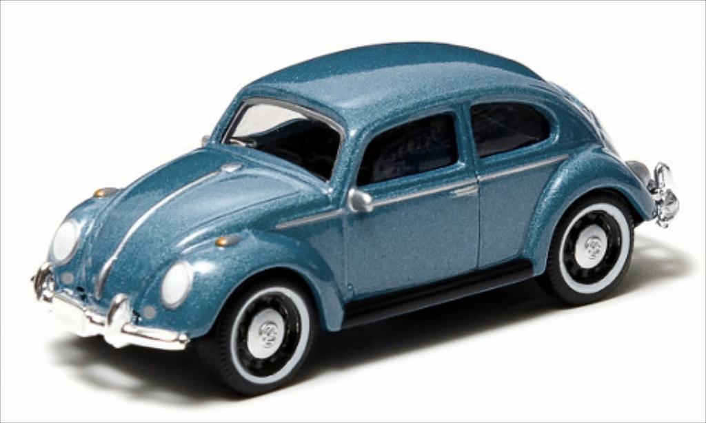 Volkswagen Kafer 1/64 Greenlight metallise bleu miniature