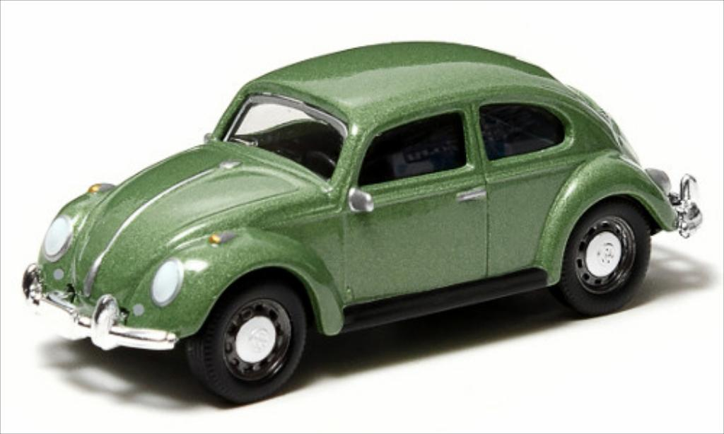 Volkswagen Kafer 1/64 Greenlight metallic-verte miniature