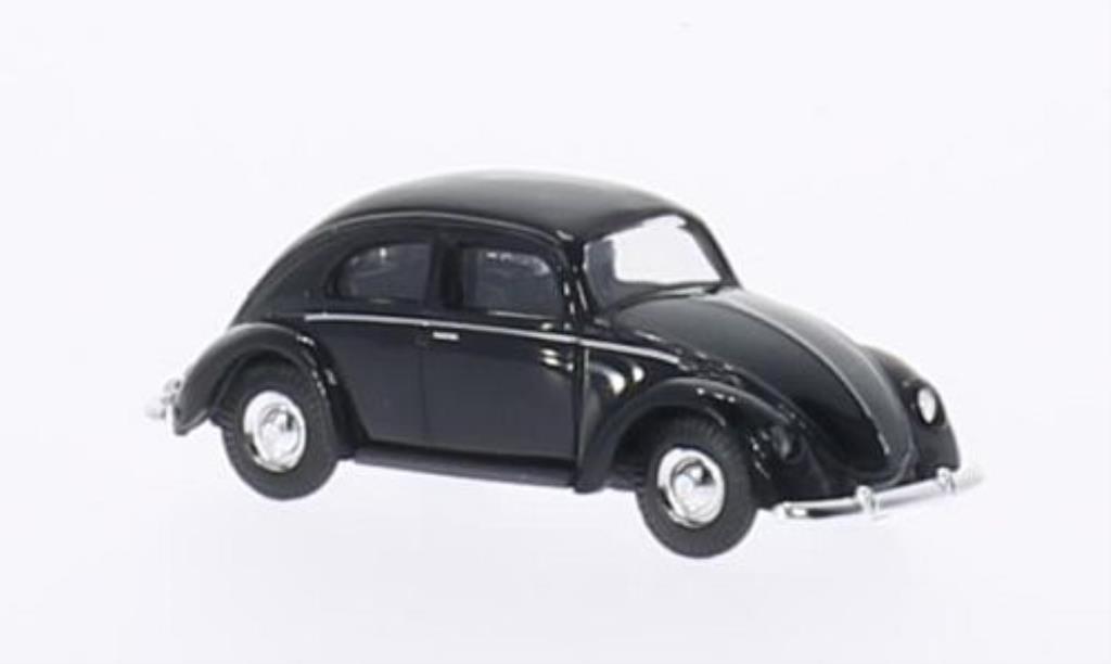 Volkswagen Kafer 1/87 Busch black Brezelfenster 1951 diecast model cars