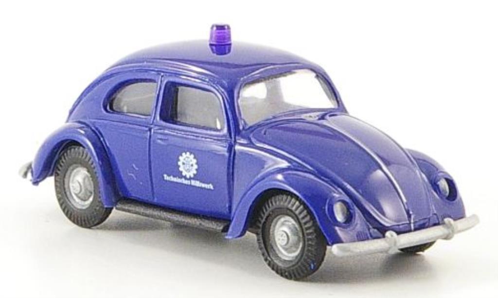 Volkswagen Kafer 1/87 Busch THW miniature
