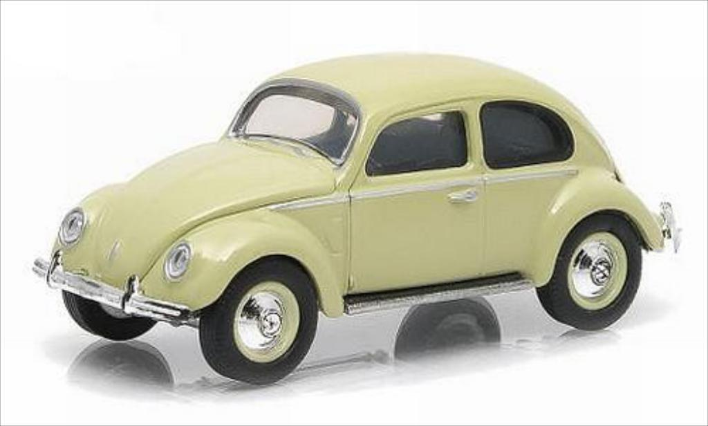Volkswagen Kafer 1/64 Greenlight (Typ 1) beige 1952