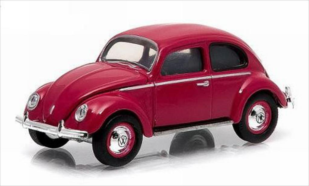 Volkswagen Kafer 1/64 Greenlight (Typ 1) rouge 1949 miniature