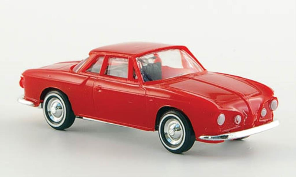 Volkswagen Karmann 1/87 Busch Ghia 1600 Coupe rouge miniature