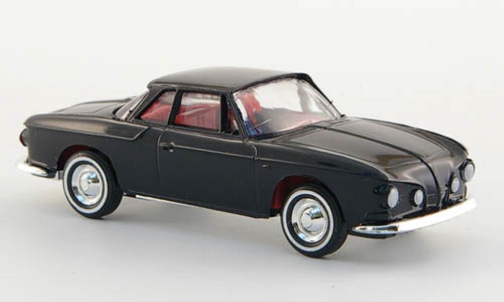 volkswagen karmann ghia 1600 coupe black busch diecast. Black Bedroom Furniture Sets. Home Design Ideas