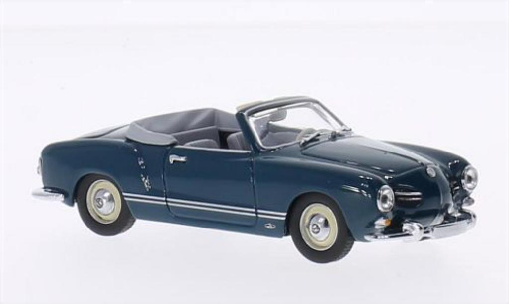 volkswagen karmann ghia convertible typ 14 dunkelblau 1957 minichamps modellauto 1 43 kaufen. Black Bedroom Furniture Sets. Home Design Ideas