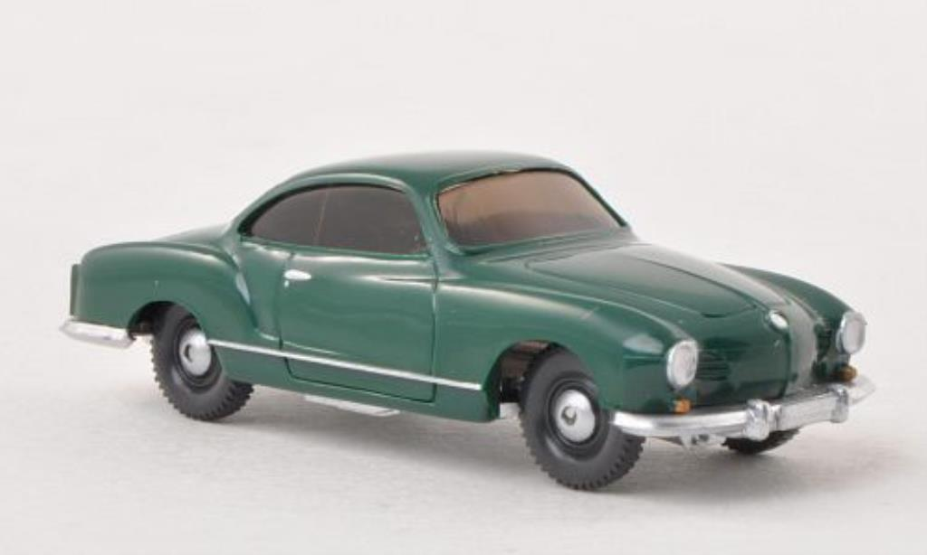 Volkswagen Karmann 1/87 Wiking Ghia Coupe verte miniature