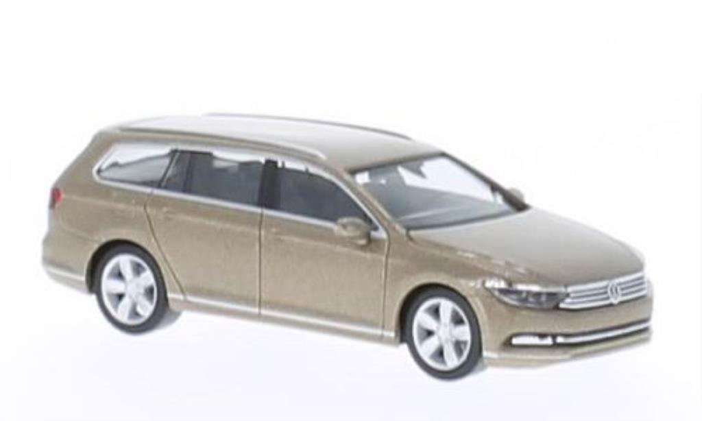 volkswagen passat b8 variant beige 2014 herpa diecast model car 1 87 buy sell diecast car on. Black Bedroom Furniture Sets. Home Design Ideas