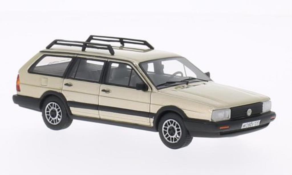volkswagen passat variant gt syncro beige 1985 mcw modellauto 1 43 kaufen verkauf modellauto. Black Bedroom Furniture Sets. Home Design Ideas