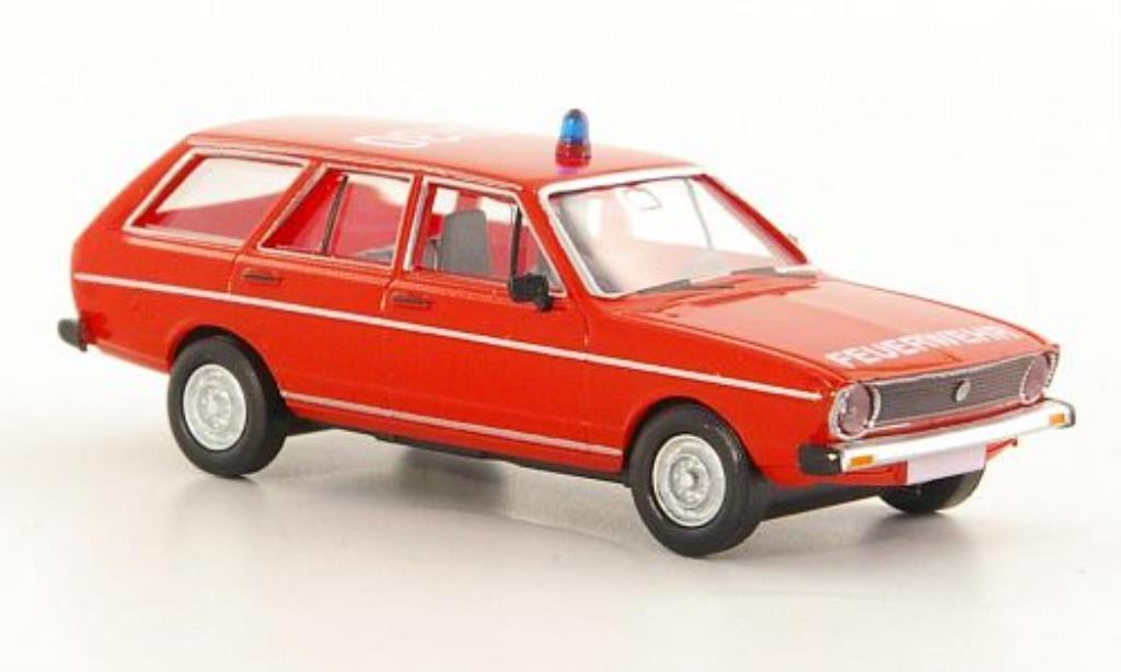 volkswagen passat variant l feuerwehr sondermodell minicar87 1976 mcw modellauto 1 87 kaufen. Black Bedroom Furniture Sets. Home Design Ideas