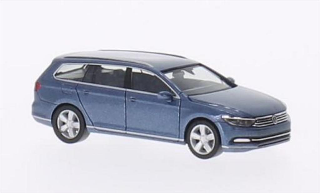 volkswagen passat variant metallic blue 2014 herpa diecast model car 1 87 buy sell diecast car. Black Bedroom Furniture Sets. Home Design Ideas