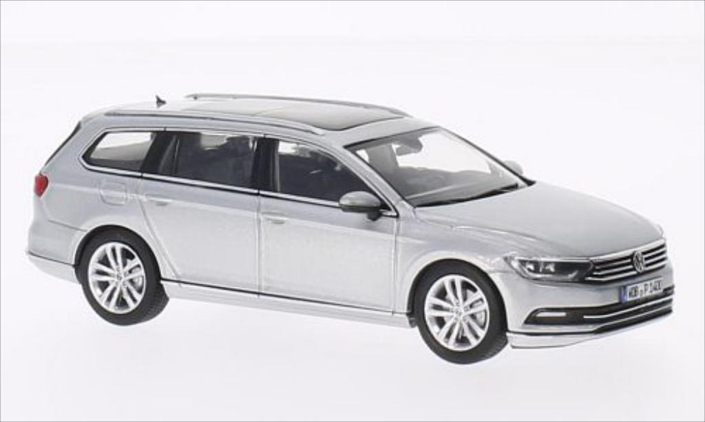 volkswagen passat miniature variant grise 2014 herpa 1 43 voiture. Black Bedroom Furniture Sets. Home Design Ideas