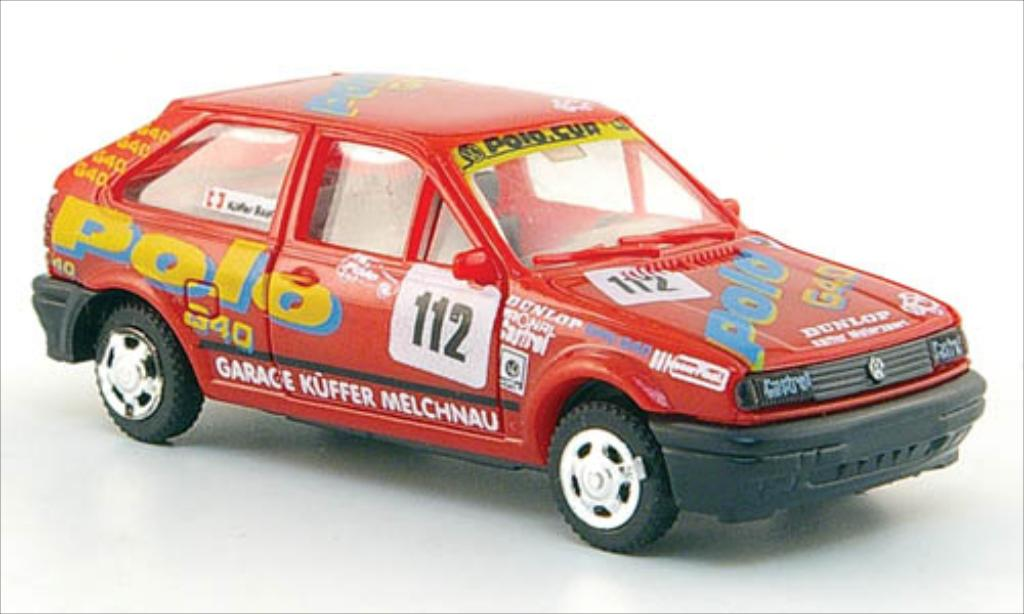 Volkswagen Polo 1/87 AWM G40 No.112 VW Polo Cup miniature