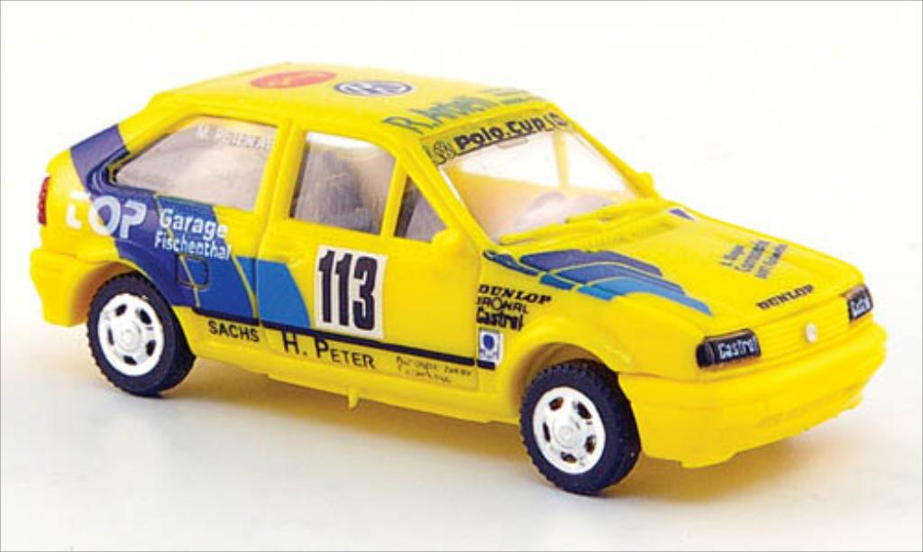 Volkswagen Polo 1/87 AWM G40 No.113 VW Polo Cup miniature