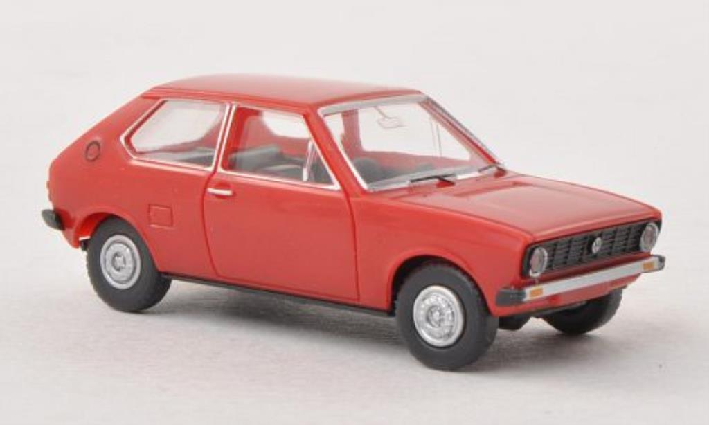 volkswagen polo miniature i rouge wiking 1 87 voiture. Black Bedroom Furniture Sets. Home Design Ideas